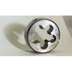 5/8-24 RH HSS Adjustable round threading Die