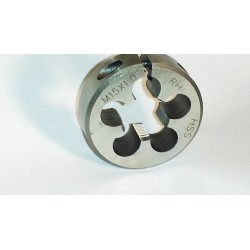 Lighthouse quality tools - M15X1 RH HSS Adjustable Round Threading Die