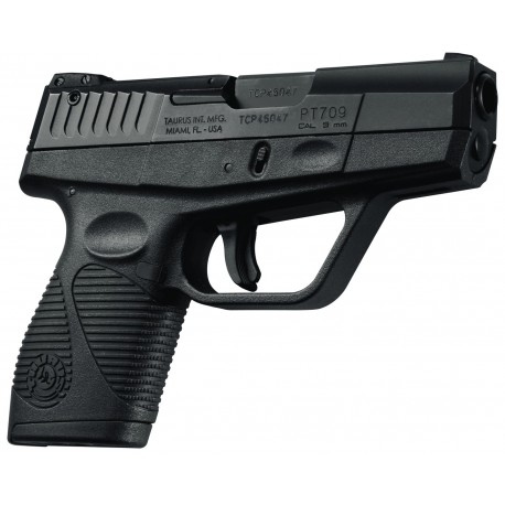 "Taurus 709 Slim Black 9mm 7rd 3"" 1 Mag"