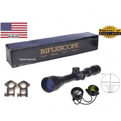 VIPERSPEED® 3-9X40 Full size hunting scope with rings - P4 Rangefinder reticle