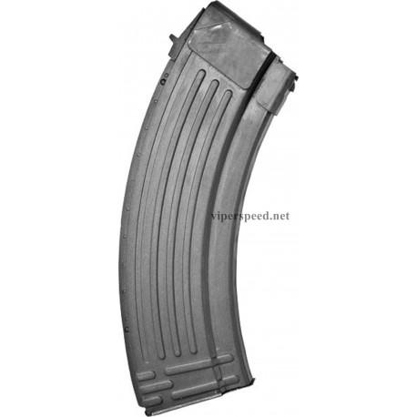 AK-47 7.62X39 30RD Korean Steel Mag - Grey