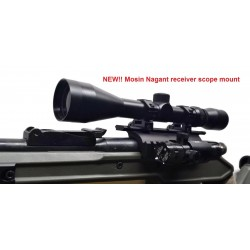 Mosin Nagant receiver double rail scope mount - Made in USA