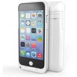 """Apple iPhone 6 Plus 5.5"""" 4200mAh Power Case External Backup Charger Battery White"""