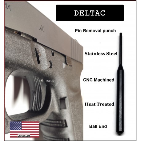 Deltac™ Takedown Armorers Disassembly tool Glock 17 19 20 21 23 Gen1 to Gen4