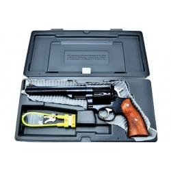 Ruger Redhawk 44 Rem Mag 7in Blued, Rosewood RH44