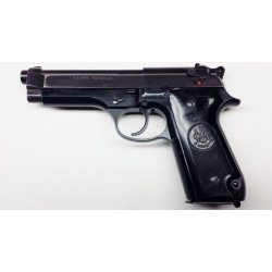 Beretta Model 92S 9mm Semi-Auto Pistol, VG, Black