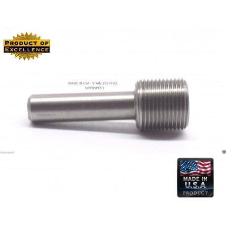 Lighthouse tools 1/2-28 RH Thread Alignment Tool (TAT) Die Starter for .22/.223