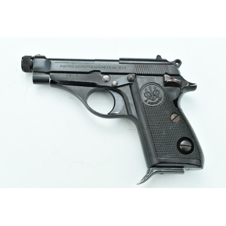 Beretta 71 with threaded barrel 22LR. Serial Number A52714U