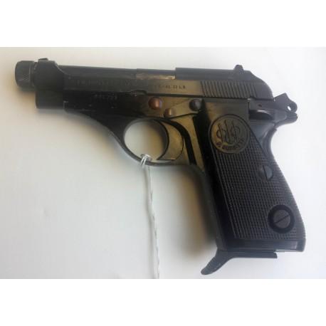 Beretta 71 with threaded barrel 22LR. Serial Number M46737