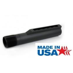 DELTAC 7075 Mil-Spec 6-Position Buffer Tube Matte Black - MADE IN USA