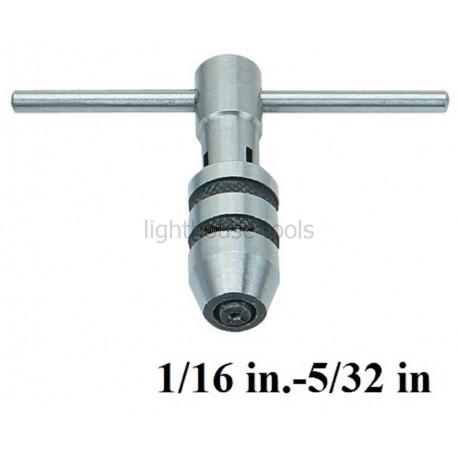 T-Handle Tap Wrench 1/16 in.-5/32 in